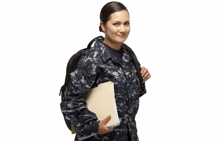 Female veteran learning with the help of the GI Bill® - Top 5 Things to Know