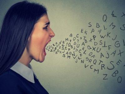 woman shouting - Verbal Management of Aggression - PWA.edu