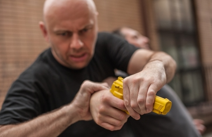 disarming a threat in PWA's Martial Arts Misconceptions course