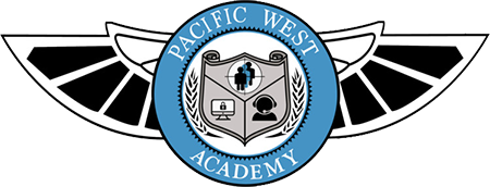 Pacific West Academy's Logo - Security and Executive protection training