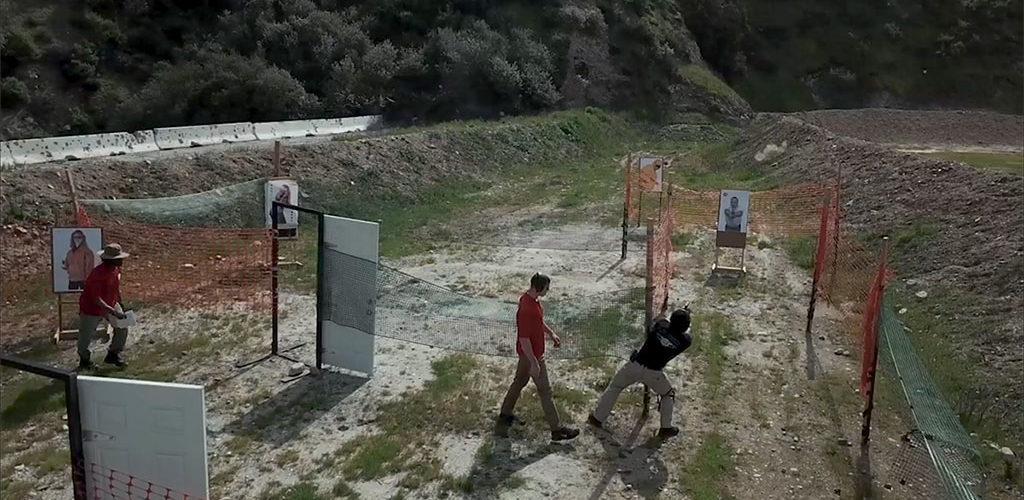 Shooting range and security training course at PWA.edu